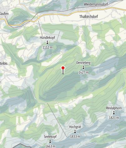 Karte / Wandertrilogie Allgäu