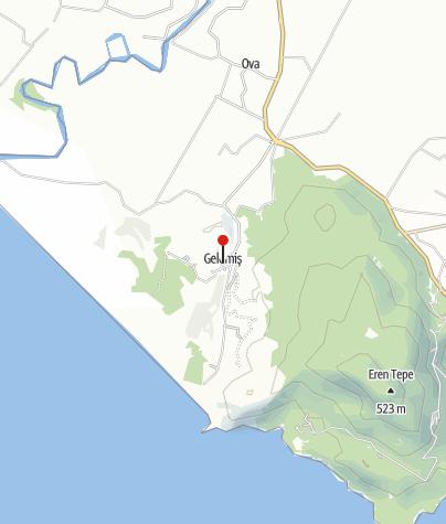 Karte / Lykien – der Höhenweg im Westen