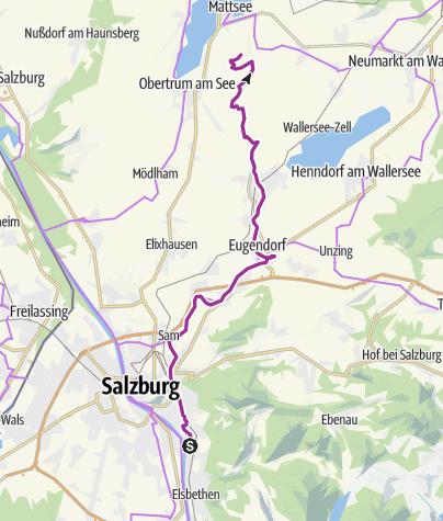 Karte / Ausfahrt Buchberg C