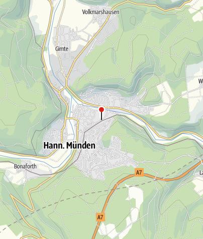 Map / Per Rad und Schiff entlang der Weser