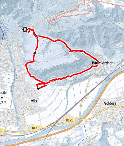 Karte / Baumkirchner Tal