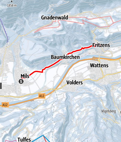 Map / Mils - Baumkirchen - Fritzens