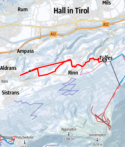 Karte / Teufelsmühle - Winterwanderung