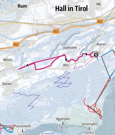 Map / Teufelsmühle - Winterwanderung