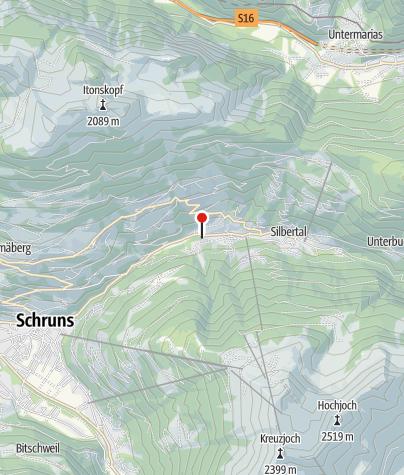 Karte / Ferienwohnung Schrofamühli