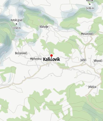 "Map / Mountain Sports Club ""Lelija"""