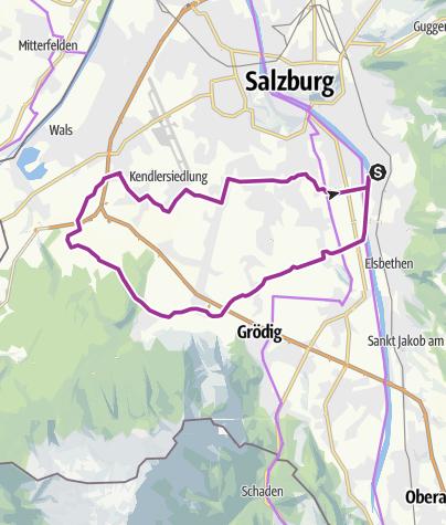 Karte / Ausfahrt B Fürstenbrunn-Viehausen