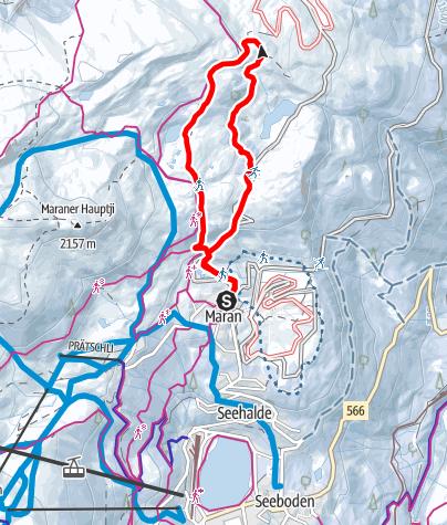 Map / Maran - Prätschalp - Maran