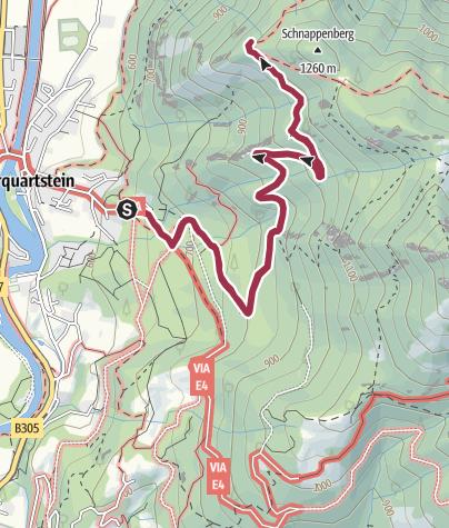 Map / Wanderung zur Schnappenkirche