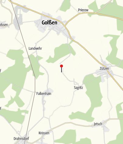 Map / Kanow-Mühle Sagritz