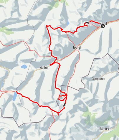 Kaart / Kulinarischer Jakobsweg