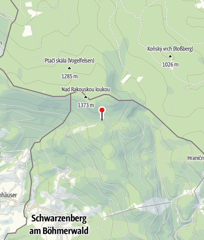 Map / SOS Zwieselhütte beim Plöckenstein