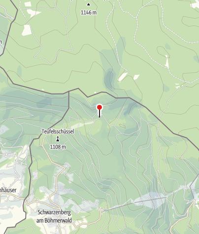 Karte / SOS Zwieselhütte beim Plöckenstein