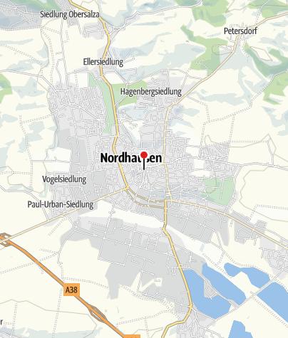 Nordhausen Karte.Nordhausen Tourist Information Infozentrum Outdooractive Com