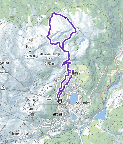 Carte / Trail Scheidegg - Helsana Trails