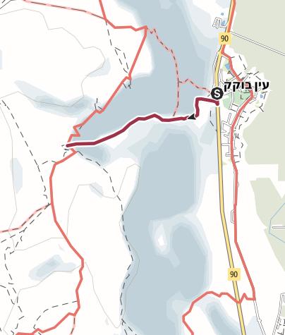 מפה / נווה מדבר נסתר ליד ים המלח