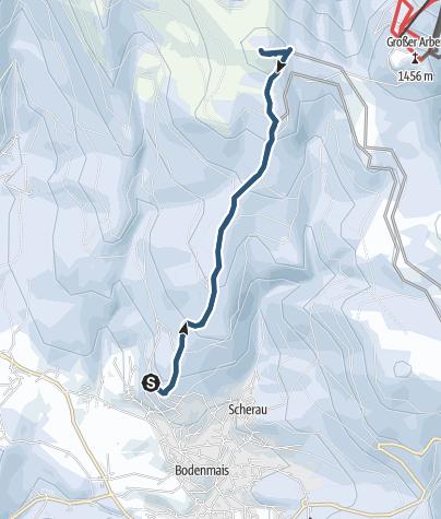 Map / Kleiner Arber von Bodenmais