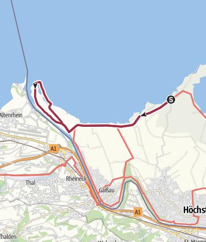 Karte / Rheindelta Runde