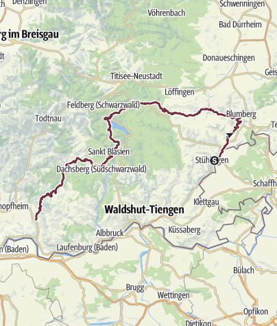 Map / Schluchtensteig