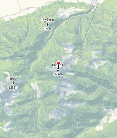 Karte / Hochfellnhaus