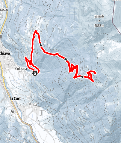Karte / Pix di Sassiglion