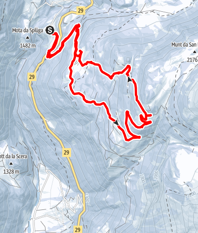 Karte / Lagh dal Teo