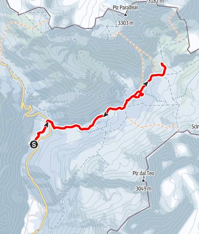 Karte / Pass da Sach