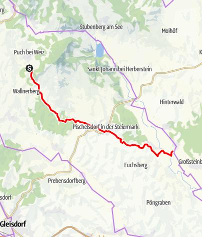 Karte / WZ 2 Pischelsdorftour