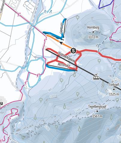 Karte / Adlerlift Tegelberg Schwangau