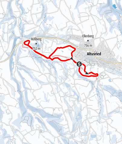 Karte / Loipe Altusried