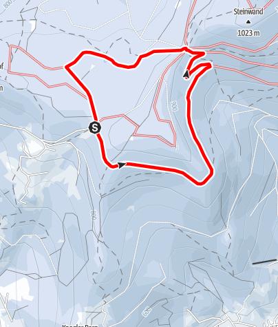 Karte / Serpentinen-Loipe Grandsberg