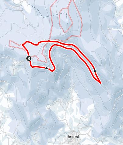 Karte / Rauher Kulm-Loipe Grandsberg