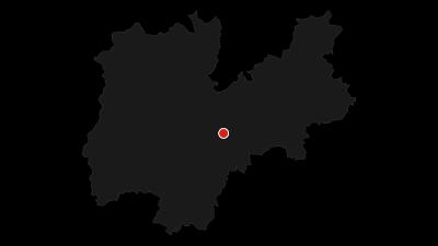 Karte / Der Radweg des Valsugana