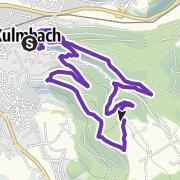 Karte / KULMBACH TRAILS 2021 - KURZ