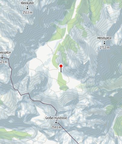 Karte / Wimbachgrieshütte