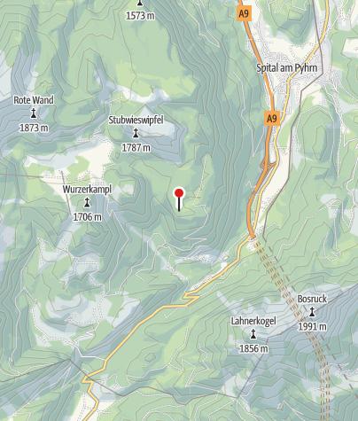 Karte / Jh. Schmiedalm 1323m