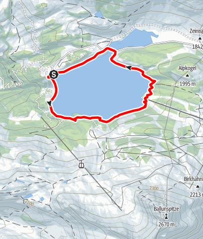 Karte / Kopsseerunde