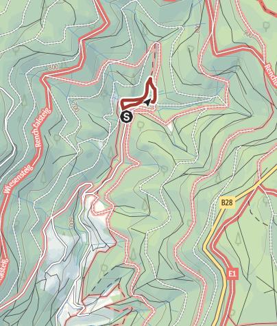 Karte / Wandern für Familien: Der Pirschpfad in Bad Peterstal-Griesbach