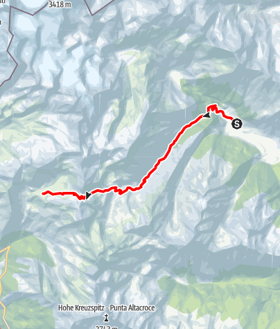 Karte / Romedius-Weg von Maiern nach St. Martin
