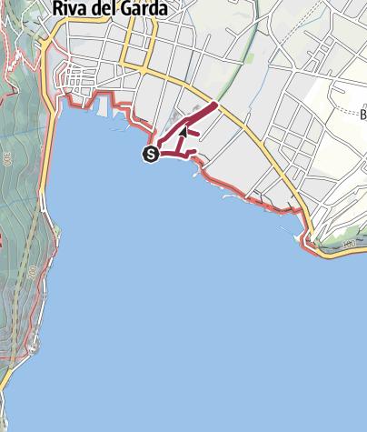 מפה / Tesori Nascosti: Il Sanatorium Von Hartungen a Riva del Garda