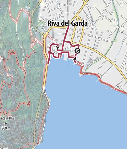 Cartina / Tesori Nascosti: Passeggiando nel cuore di Riva del Garda