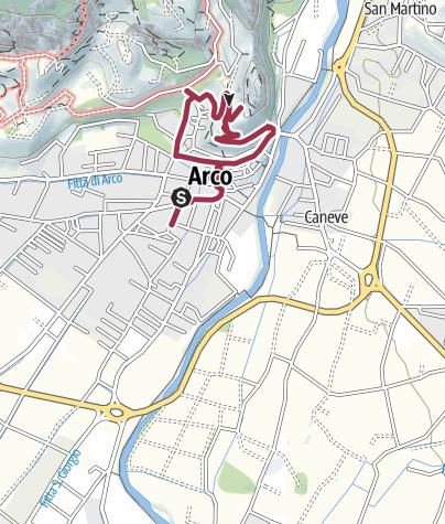 Map / Hidden Treasures: Arco between Air and Rock