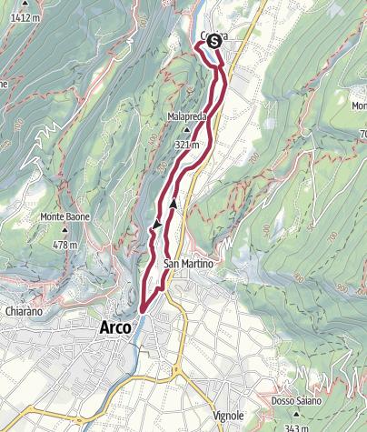 Map / Hidden Treasures: The secrets of river Sarca