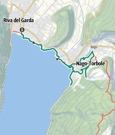 "Map / Hidden Treasures: The ""Blue Line"" of Garda Trentino"