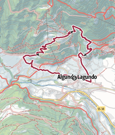 Map / Algund-Mitterplars-Oberplars-Vellau
