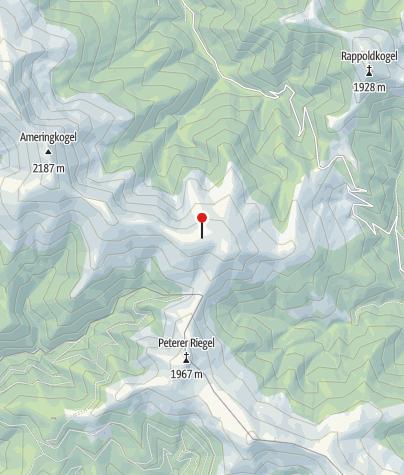 Karte / Markierungsstange Speikkogel Stubalm