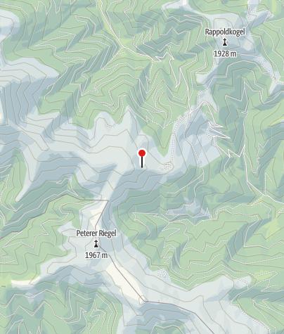 Karte / Markierungsstange Stubalm, Windräder