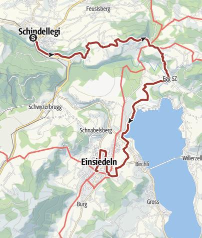 Karte / Bauernlehrpfad rund um den Etzel