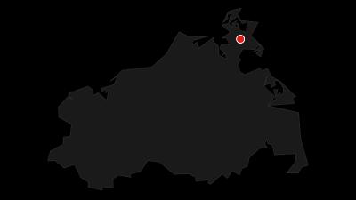 Karte / Radausfahrt Rügen - Stralsund - Barth