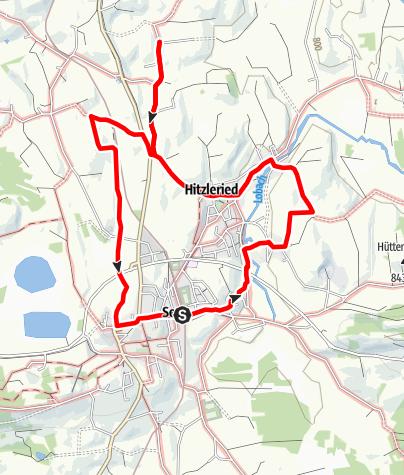 Karte / Seeger Kapellenweg